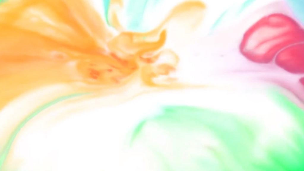 Explosiones de colores con agua y colorante