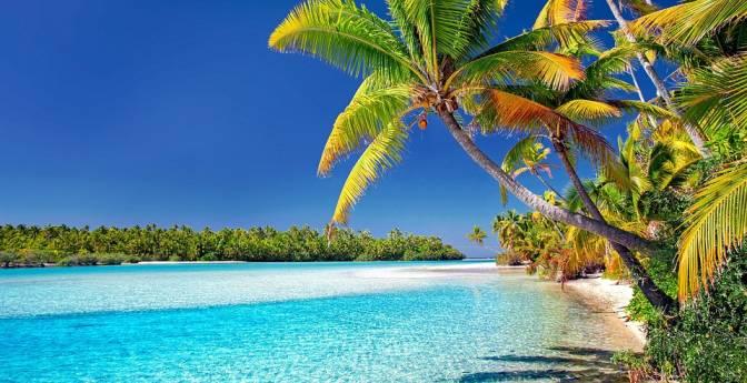 Las Islas Cook es uno de los lugares con el agua más cristalina del mundo