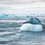 Contaminación del hielo ártico