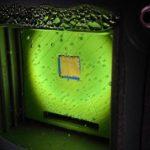 Una hoja artificial genera gas de forma limpia por fotosíntesis