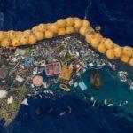 La limpieza de la isla de plástico ha comenzado