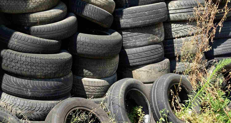El reciclaje de neumáticos potencia la economía circular