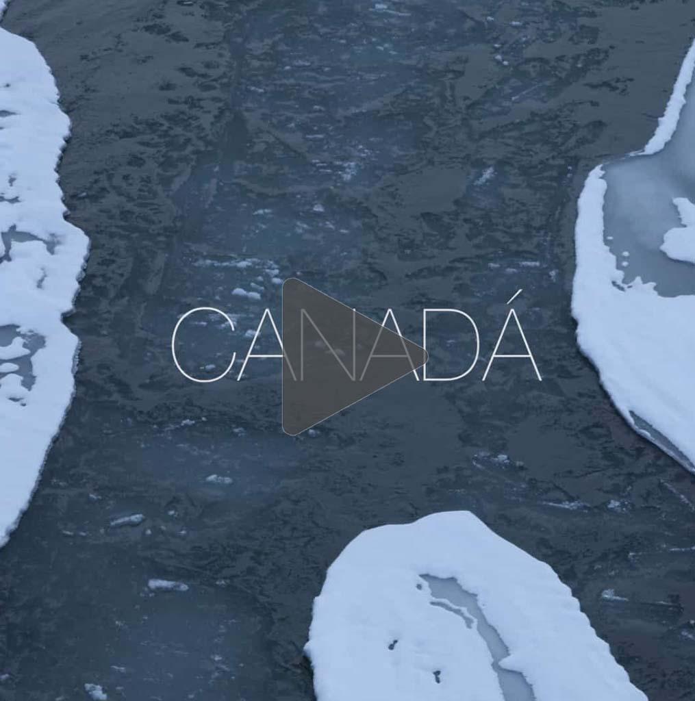 deshielo en los polos, ríos de Canadá: Andoni Canela, Crónicas desde el Ártico