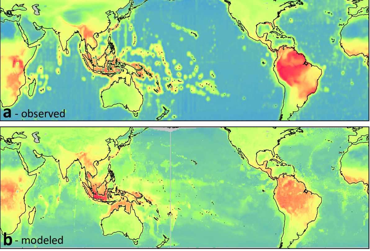 El primer mapa global de la biodiversidad