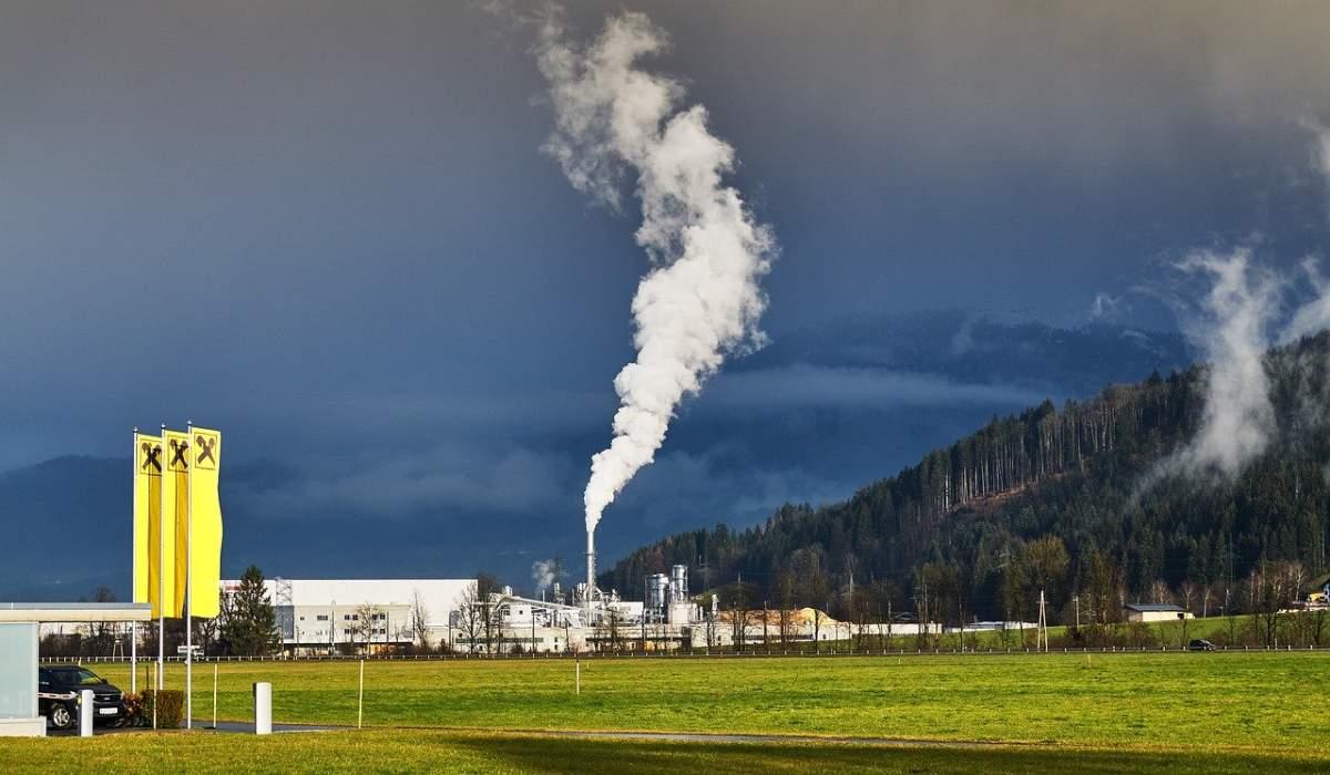 Contaminación del aire por la industria textil