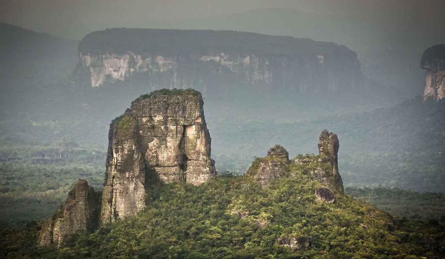 Los árboles crean lluvia en el Amazonas