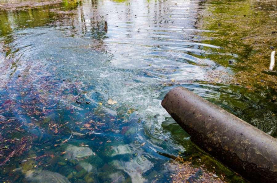 descontaminación del agua