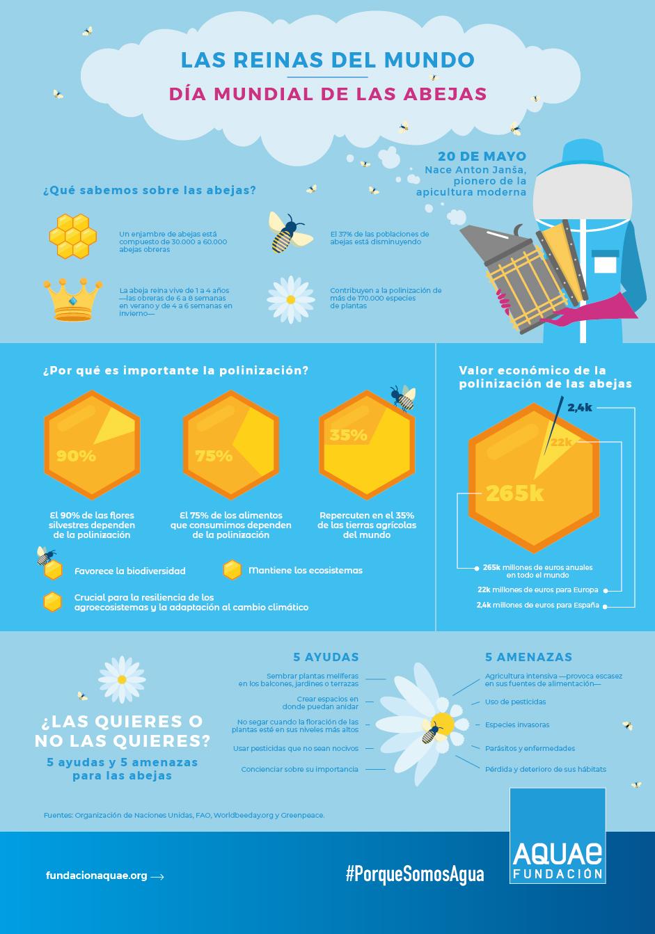 Las abejas y su importancia