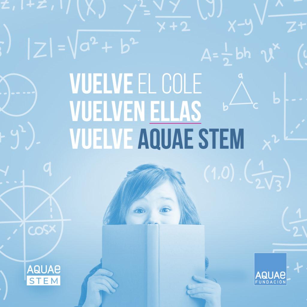 Vuelve por segundo año consecutivo Aquae STEM, el proyecto de la Fundación Aquae que pretende potenciar y impulsar las carreras científicas y tecnológicas entre las alumnas de primaria