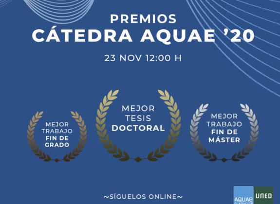 Premios Cátedra Aquae 2020