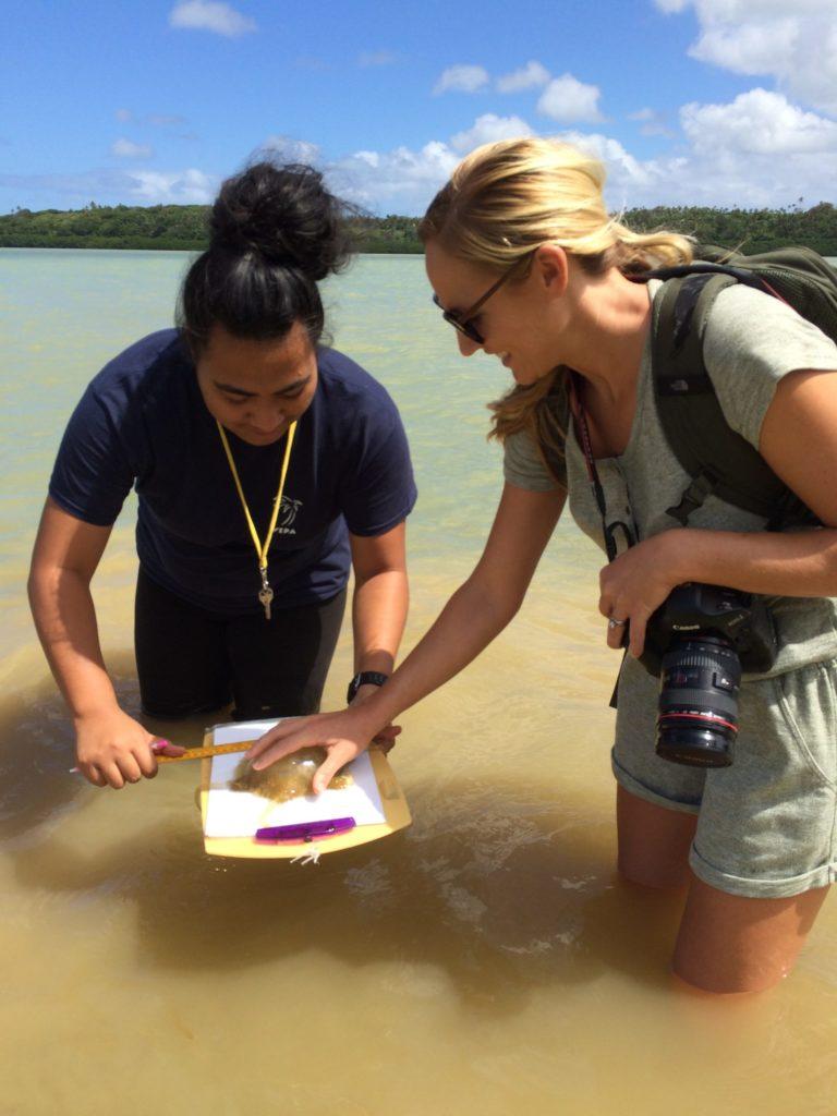 Shannon Swanson, fotógrafa e investigadora, confía en que una pesca sostenible es posible