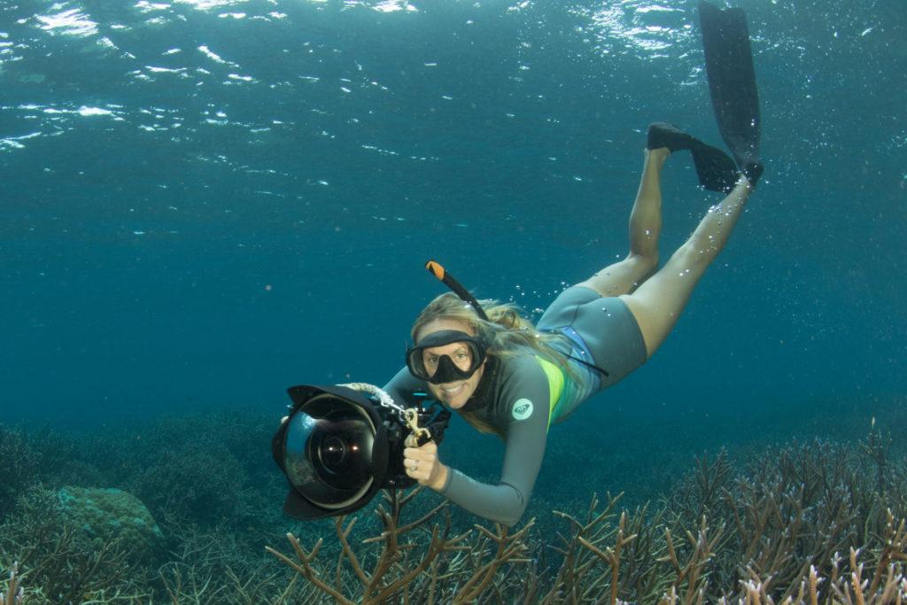 Shannon Swanson, fotógrafa e investigadora, confía en que es posible construir un modelo de pesca sostenible