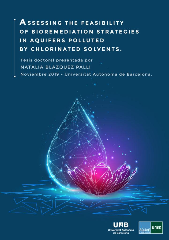 Natàlia Blázquez Pallí se profundiza en el conocimiento sobre los procesos de biodegradación anaerobia in-situ de los disolventes clorados en aguas subterráneas