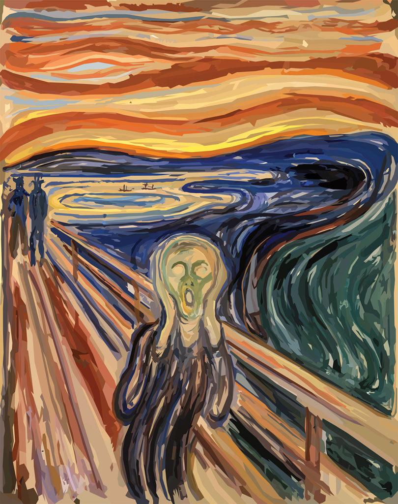 Arte y pandemia. Edvard Munch