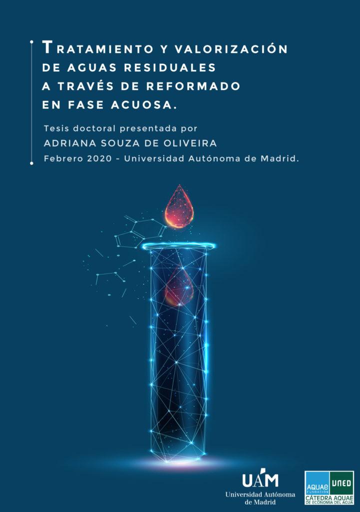Adriana Souza analiza en su tesis doctoral un proceso sostenible basado en la producción de hidrógeno para el tratamiento de aguas residuales