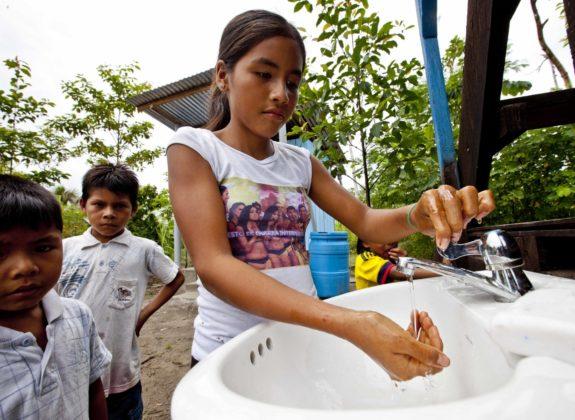 Acceso a agua segura