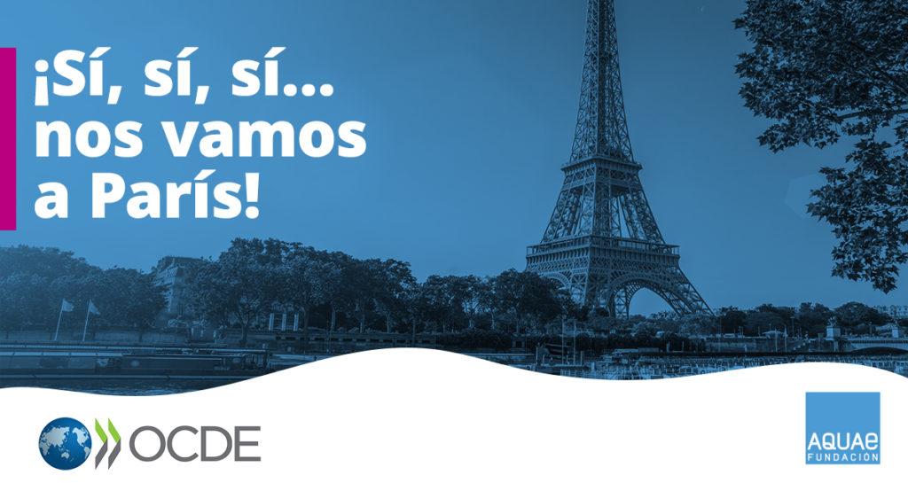 Fundación Aquae y la OCDE lanzan una nueva convocatoria de prácticas durante seis meses en la sede parisina del organismo internacional