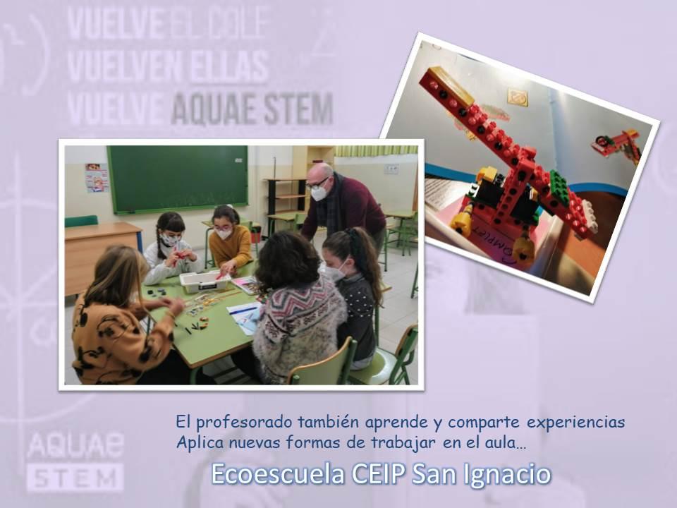 José Luis Romero, profesor delEcoescuela CEIP San Ignacio, reflexiona sobre la importancia del programa