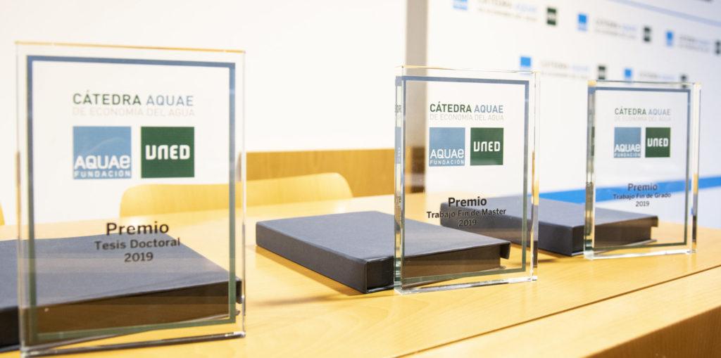 Los premios anuales a la investigación: Premios Cátedra Aquae